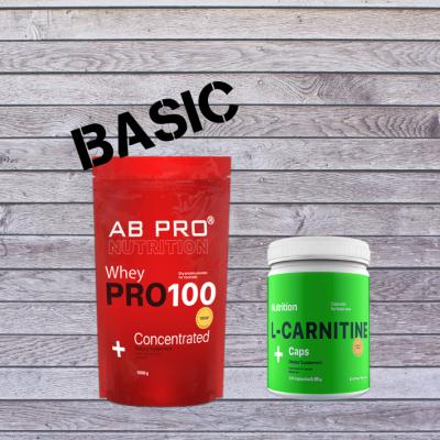 Комплект Здоровье и функциональность BASIC (протеин, жиросжигатель)