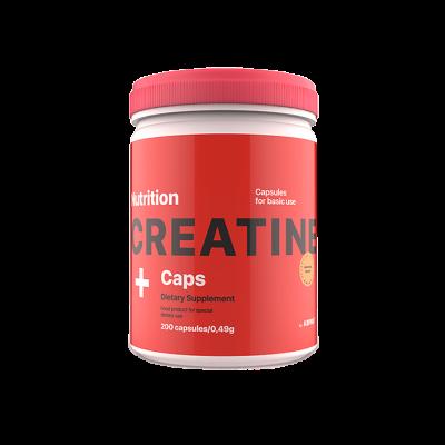 Креатин AB PRO Creatine Monohydrate Caps 200 капсул