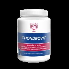 """Витаминная добавка """"CHONDROVIT"""" для активных котов и собак и животных старше 5 лет EntherMeal 200 г"""