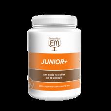 """Витаминная добавка """"JUNIOR +"""" для котов и собак до 10 месяцев EntherMeal 200 г"""